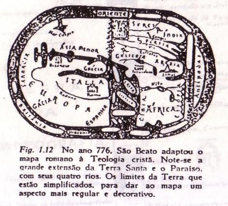 Mapa-Mindi de São Beato, 776