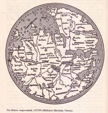 Mapa-Mundi 1457